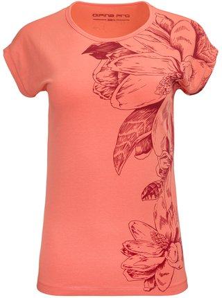 Dámské triko ALPINE PRO DEXA oranžová