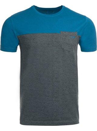 Pánské triko ALPINE PRO PRAVIN modrá