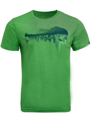 Pánské triko ALPINE PRO MOTIQ zelená