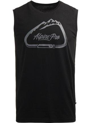 Pánské triko ALPINE PRO GARED černá