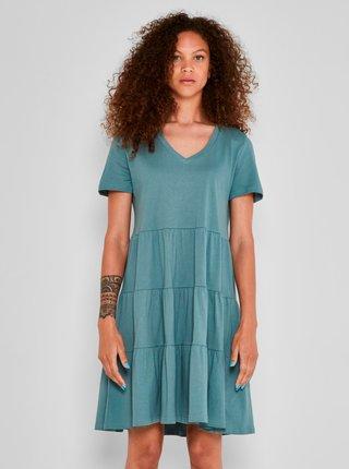 Šaty na denné nosenie pre ženy Noisy May - petrolejová