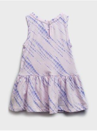 Fialové holčičí baby šaty arch dress GAP