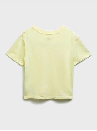 Zelené holčičí dětské tričko GAP Logo short sleeve update