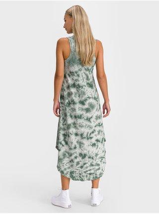 Zelené dámské šaty tank midi dress GAP