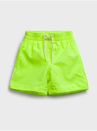 Zelené klučičí dětské plavky swim trunk GAP