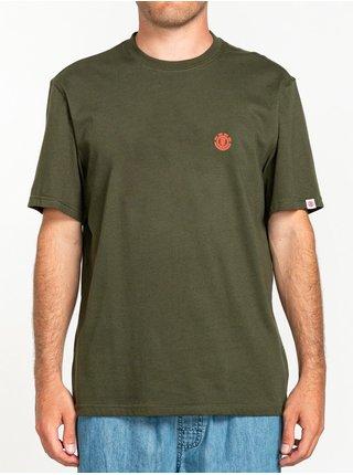 Element MARKS forest night pánské triko s krátkým rukávem - zelená