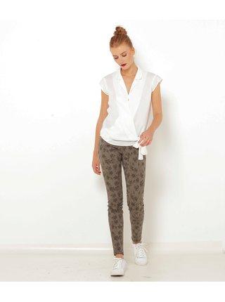 Nohavice pre ženy CAMAIEU - hnedá