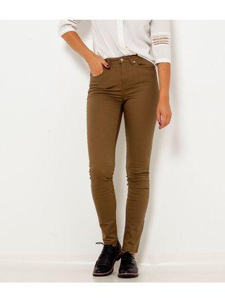Nohavice pre ženy CAMAIEU - kaki