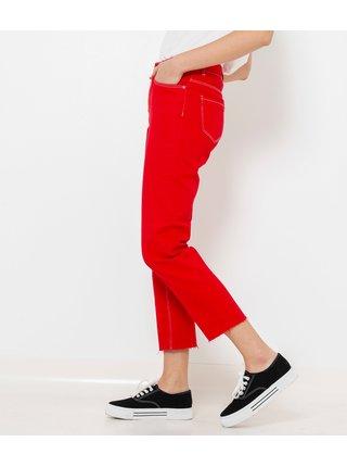 Straight fit pre ženy CAMAIEU - červená