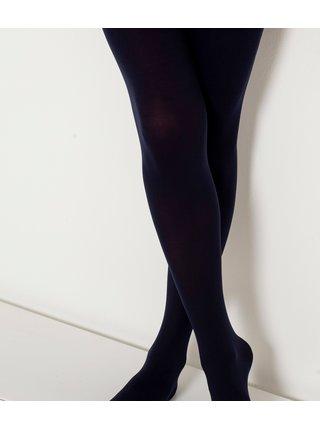 Tmavě modré punčochové kalhoty CAMAIEU