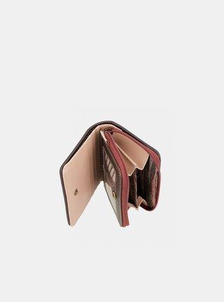 Béžová dámská vzorovaná peněženka Anekke Kenya