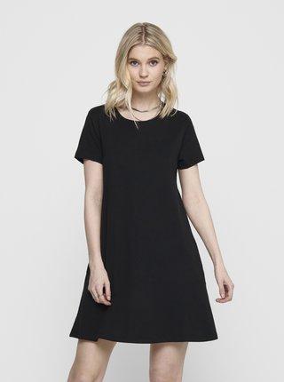 Čierne šaty s vreckami ONLY May