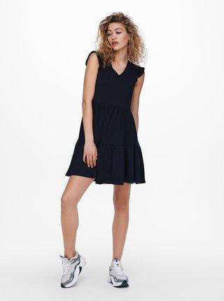 Tmavomodré šaty ONLY May