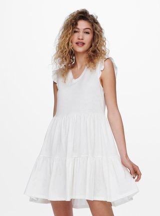 Bílé šaty ONLY May