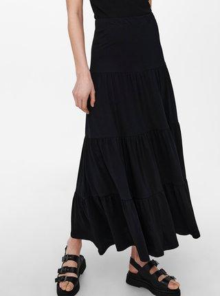 Černá maxi sukně ONLY May