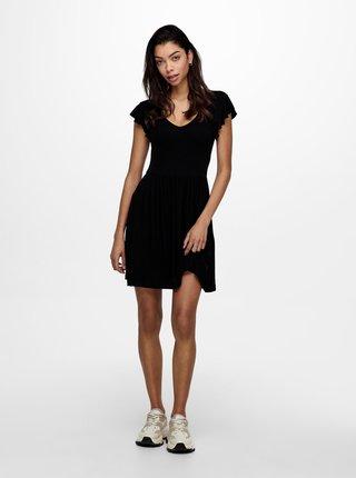Čierne šaty ONLY Belia