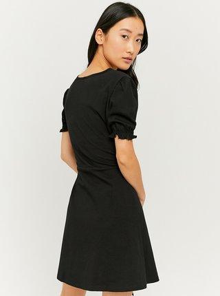 Černé šaty se zavazováním TALLY WEiJL