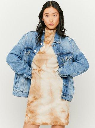 Modrá džínová bunda s potrhaným efektem TALLY WEiJL