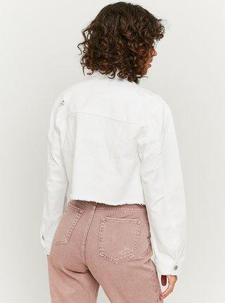 Bílá krátká džínová bunda TALLY WEiJL