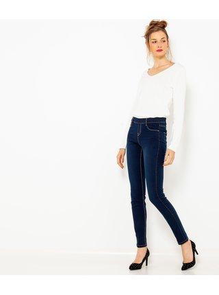 Tmavě modré skinny fit džíny CAMAIEU