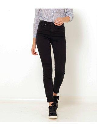Černé skinny fit džíny CAMAIEU