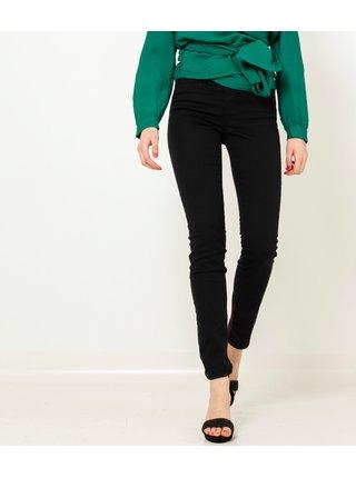 Černé skinny fit kalhoty CAMAIEU