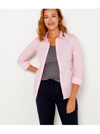 Ružová košeľa CAMAIEU