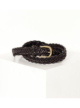 Černý pletený pásek CAMAIEU