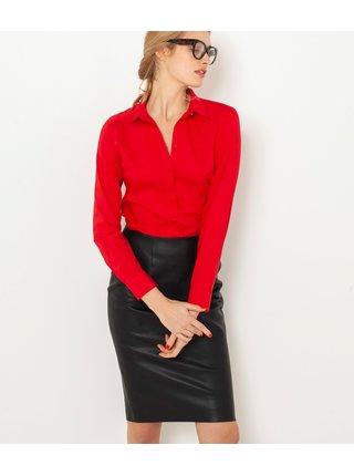 Červená košeľa CAMAIEU