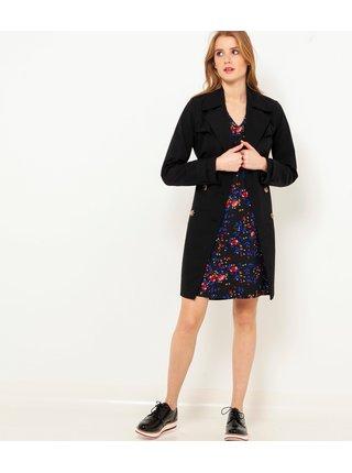 Černé květované šaty CAMAIEU