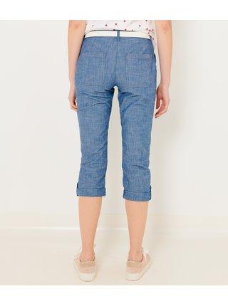 Modré 3/4 kalhoty CAMAIEU