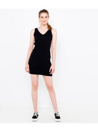 Čierne púzdrové šaty CAMAIEU