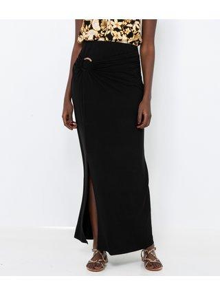Čierna maxi sukňa CAMAIEU