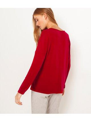 Červené voľné tričko CAMAIEU