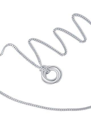 Stříbrný náhrdelník Silver Ring PRAQIA