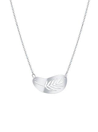 Stříbrný náhrdelník Silver palm PRAQIA