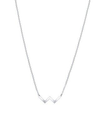 Stříbrný náhrdelník Double PRAQIA