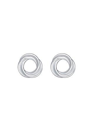 Stříbrné náušnice Silver Ring PRAQIA
