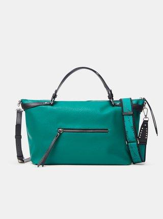 Zelená dámska kabelka Desigual Embossed Half Libia