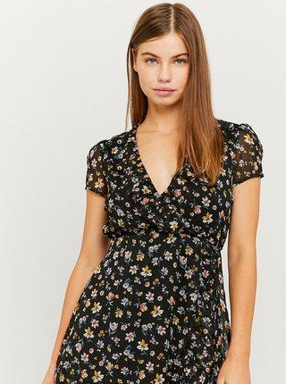 Černé květovan šaty TALLY WEiJL