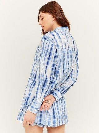 Modro-bílá vzorovaná košile TALLY WEiJL