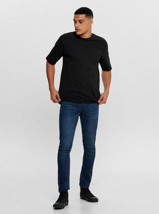 Černé basic tričko ONLY & SONS Donnie