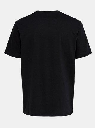 Černé basic tričko ONLY & SONS Millenium