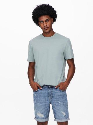 Svetlozelené basic tričko ONLY & SONS Millenium