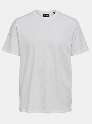 Biele basic tričko ONLY & SONS Millenium