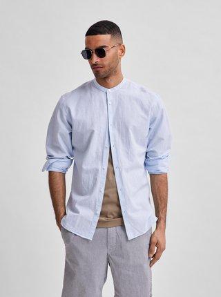 Svetlomodrá košeľa Selected Homme Regnew