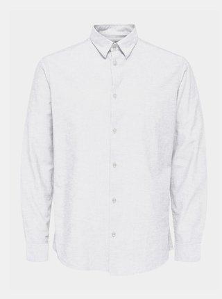 Biela košeľa Selected Homme Regnew