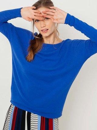 Modré volné tričko CAMAIEU