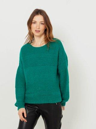 Zelený svetr CAMAIEU