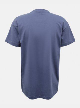 Tmavě modré volné tričko AWARE by VERO MODA Obenta